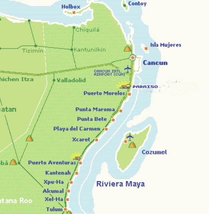 Riviera Maya Beaches Mexican Caribbean Beaches Guide